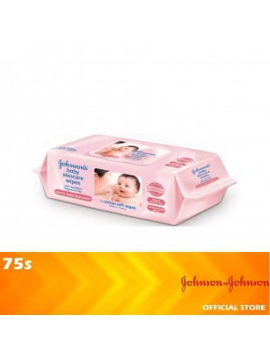 Johnson's Baby Fragrance Free Skincare Wipes 75's [MUST BUY]