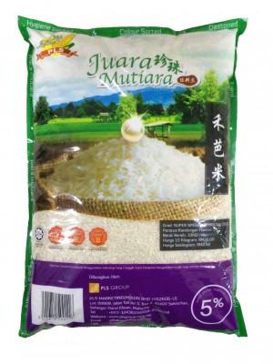 Sekinchan Juara Mutiara 5% Rice 10kg [Essential]
