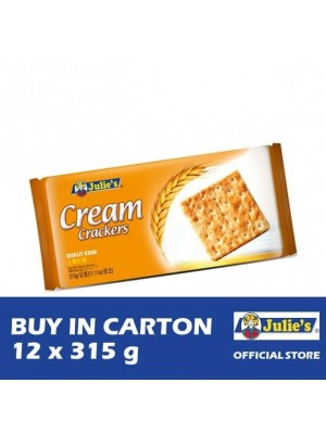 Julie's Cream Crackers 12 x 315g