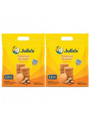 Julie's Peanut Sandwich 2x360g