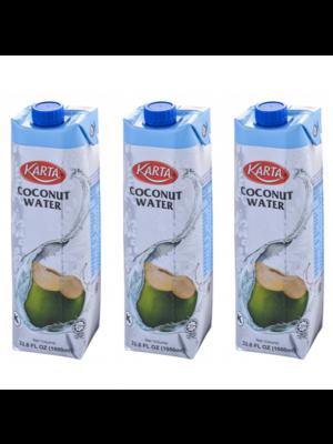 Karta Coconut Water 3 x 1000ml