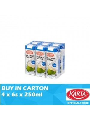 Karta Coconut Water Original 4 x 6 x 250ml