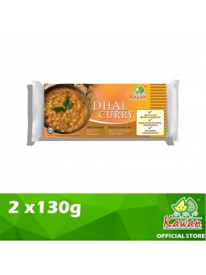 Kawan Dhall Curry 2cups x 130g [Essential]