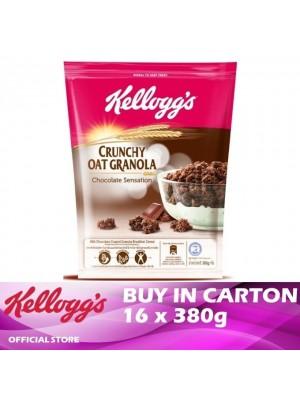 Kellogg's Crunchy Oat Granola Chocolate Sensation 16 x 380g