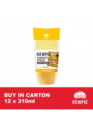 Kewpie Cheesy Cheese Spread 12 x 310ml