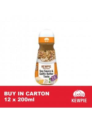 Kewpie Pasta Sauce Soy Sauce & Garlic Butter 12 x 200ml