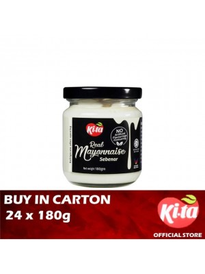 Ki.ta Real Mayonnaise 24 x 180g