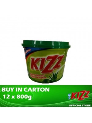 Kizz Dishwashing Paste (Lime) 12 x 800g