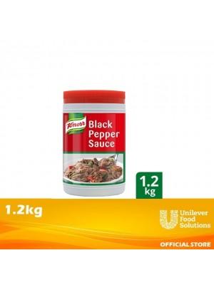 Knorr Black Pepper Sauce 1.2KG