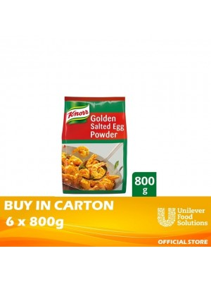 Knorr Golden Salted Egg Powder 6x800g