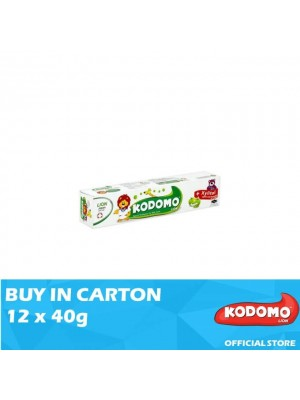 Kodomo Lion Toothpaste Apple Flavour 12 x 40g