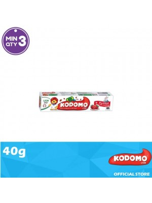 Kodomo Lion Toothpaste Strawberry Flavour 40g