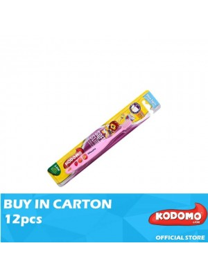 Kodomo Slim & Soft Children Toothbrush (3Years - 5Years) 12pcs