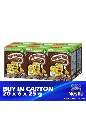 Nestle Koko Krunch Breakfast Cereal Mini Pack 20 x 6 x 25g