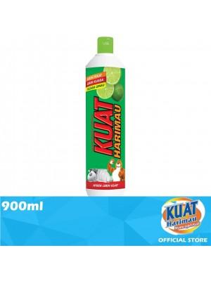 Kuat Harimau Dishwashing Liquid Lime 900ml