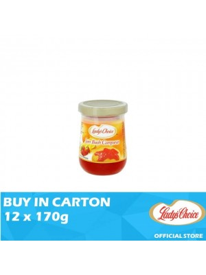 Lady's Choice Jam Mixed Fruit 12 x 170g