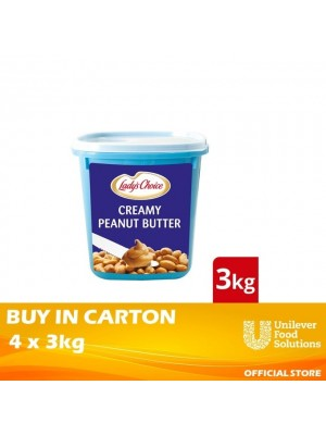 Lady's Choice Peanut Butter 4x3kg