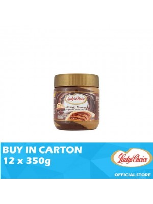 Lady's Choice Peanut Butter Chocolate Stripe 12 x 350g