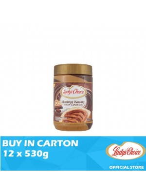 Lady's Choice Peanut Butter Chocolate Stripe 12 x 530g