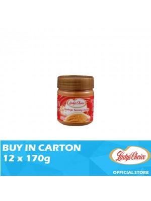 Lady's Choice Peanut Butter Chunky 12 x 170g