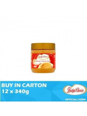 Lady's Choice Peanut Butter Chunky 12 x 340g