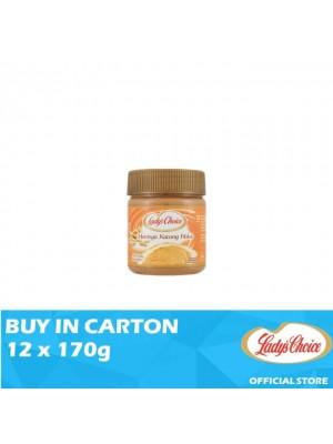 Lady's Choice Peanut Butter Creamy 12 x 170g
