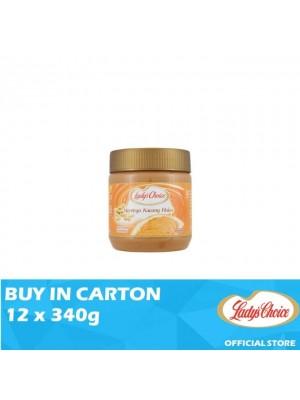 Lady's Choice Peanut Butter Creamy 12 x 340g
