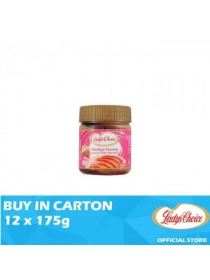 Lady's Choice Peanut Butter Strawberry Stripe 12 x 175g