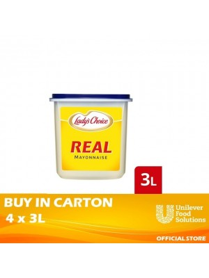 Lady's Choice Real Mayonnaise 4x3L