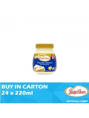 Lady's Choice Real Mayonnaise Jar 24 x 220ml