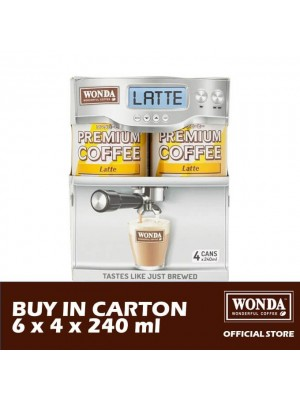 Wonda Latte Multi-pack 6 x 4 x 240ml
