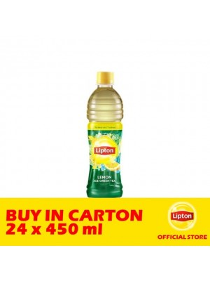 Lipton Lemon Clear Green Tea 24 x 450ml