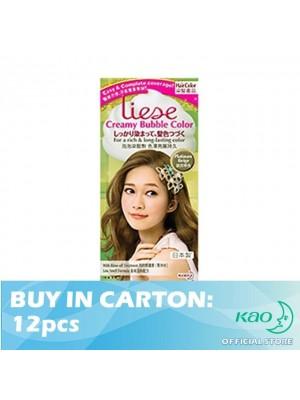 Liese Creamy Bubble Color Platinum Beige 12pcs