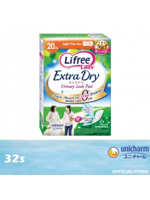 Lifree Extra Dry Pad 20cc 32s