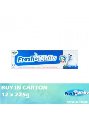 Lion Fresh & White Extra Cool Mint 12 x 225g
