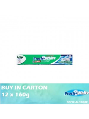 Lion Fresh & White Fresh Cool Mint 12 x 160g