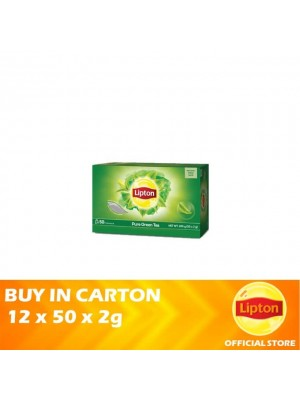 Lipton Green Tea 12 x 50 x 2g