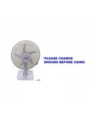 Lite-On 12'' AC/DC Rechargeable Fan