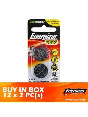 Energizer Lithium Coin 2025 BS 12 x 2pcs