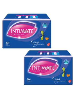 Intimate Long Pantyliner 180mm 2x20 pcs