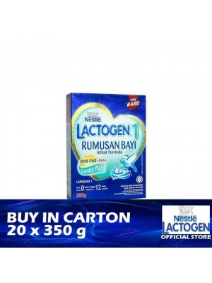 Nestle Lactogen 1 Infant Formula 20 x 350g