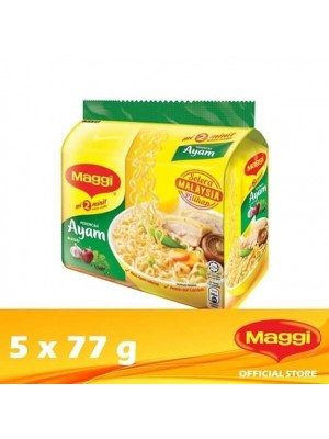 Maggi 2-Minutes Chicken 5 x 77g (EXP : 08/2021) [MUST BUY]
