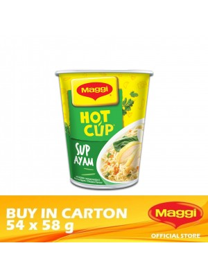 Maggi Hot Cup Chicken 54 x 58g