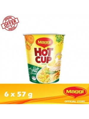 Maggi Hot Cup Chicken 6 x 57g (EXP : 02/2022) [MUST BUY]
