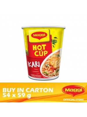 Maggi Hot Cup Curry 54 x 59g