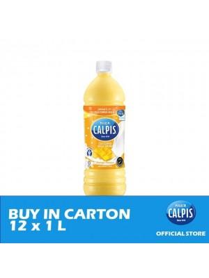Calpis Smooth Mango Flavour Cultured Milk Drink 12 x 1L