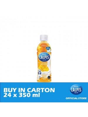 Calpis Smooth Mango Flavour Cultured Milk Drink 24 x 350ml