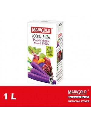 Marigold 100% Juice Purple Veggie Mixed Fruits 1L