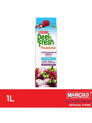 Marigold Peel Fresh PowerJuice Mixed Fruit Mangosteen Flavour 1L