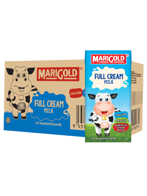 Marigold UHT Full Cream Milk 12x1L